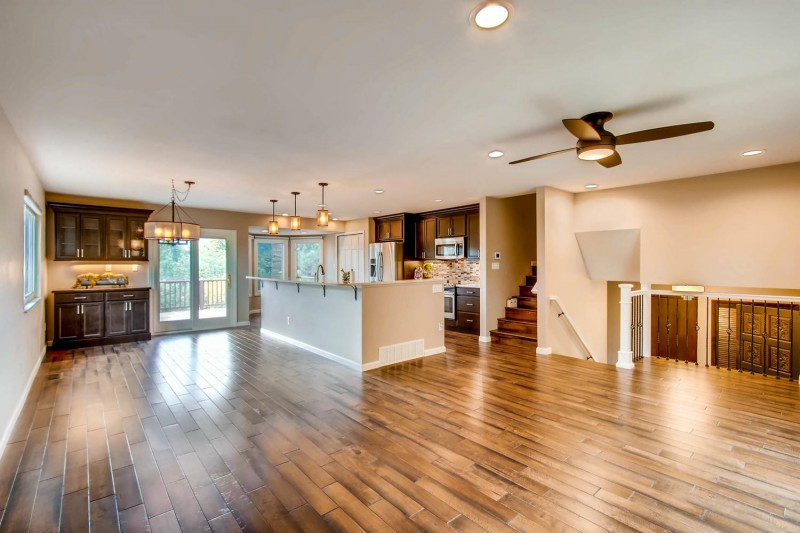 Dining Room Remodel from Independent Construction & Remodel - Dolomite Dr Colorado