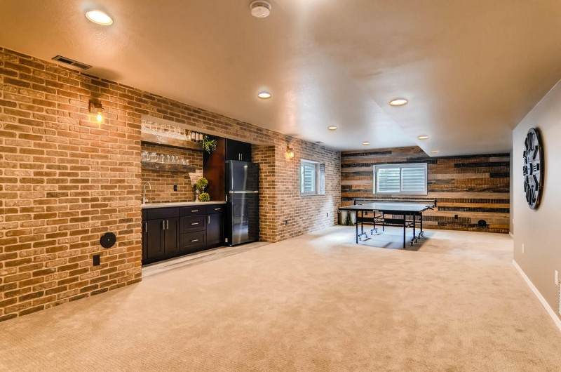 Basement Remodel from Independent Construction & Remodel in Colorado