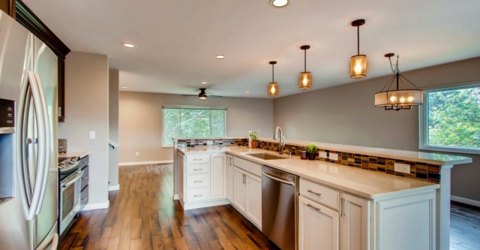 Kitchen Remodel and Updating from Independent Construction - Dolomite Dr Colorado